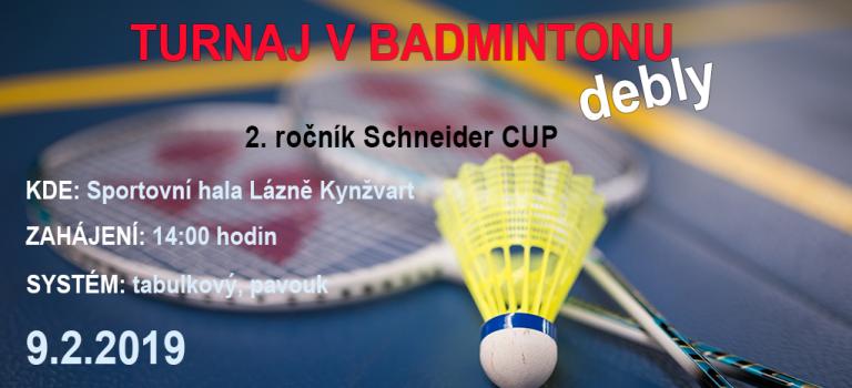 Propozice Schneider cup 2019