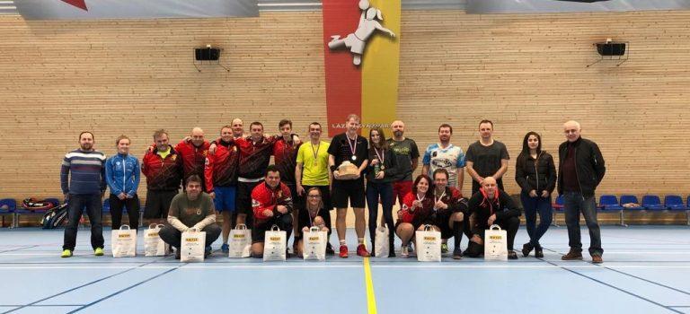 Schneider Cup 2019 – první turnaj čtyřher v nové sportovní hale