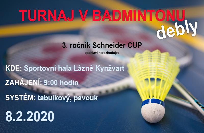 Pozvánka Schneider Cup